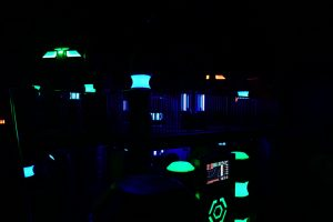 Check out our laser tag arena